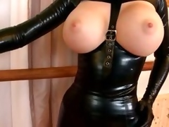 big tits latex